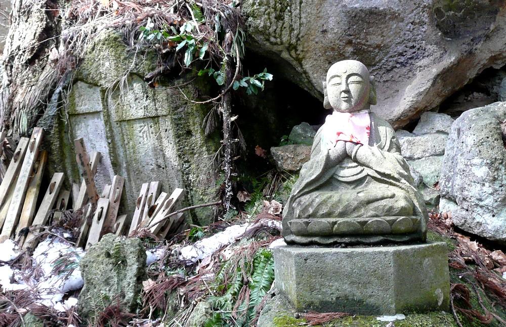 立石寺の地蔵