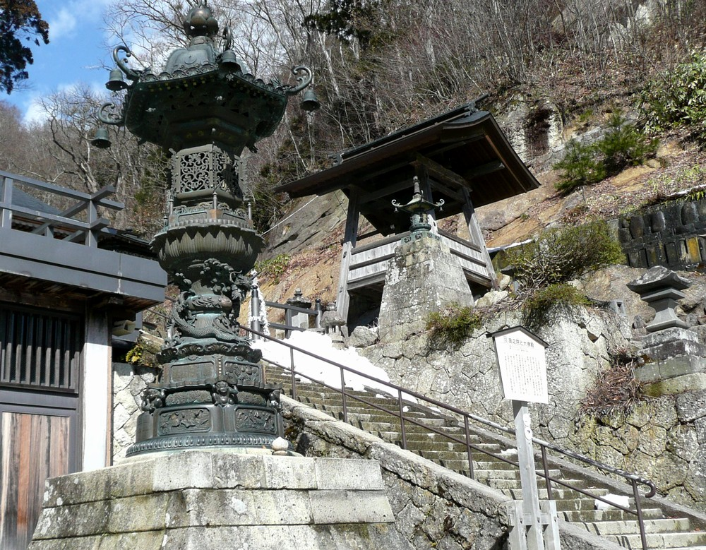 奥の院への階段