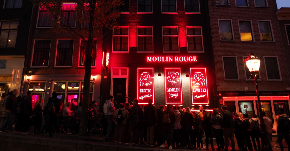 アムステルダム 赤窓