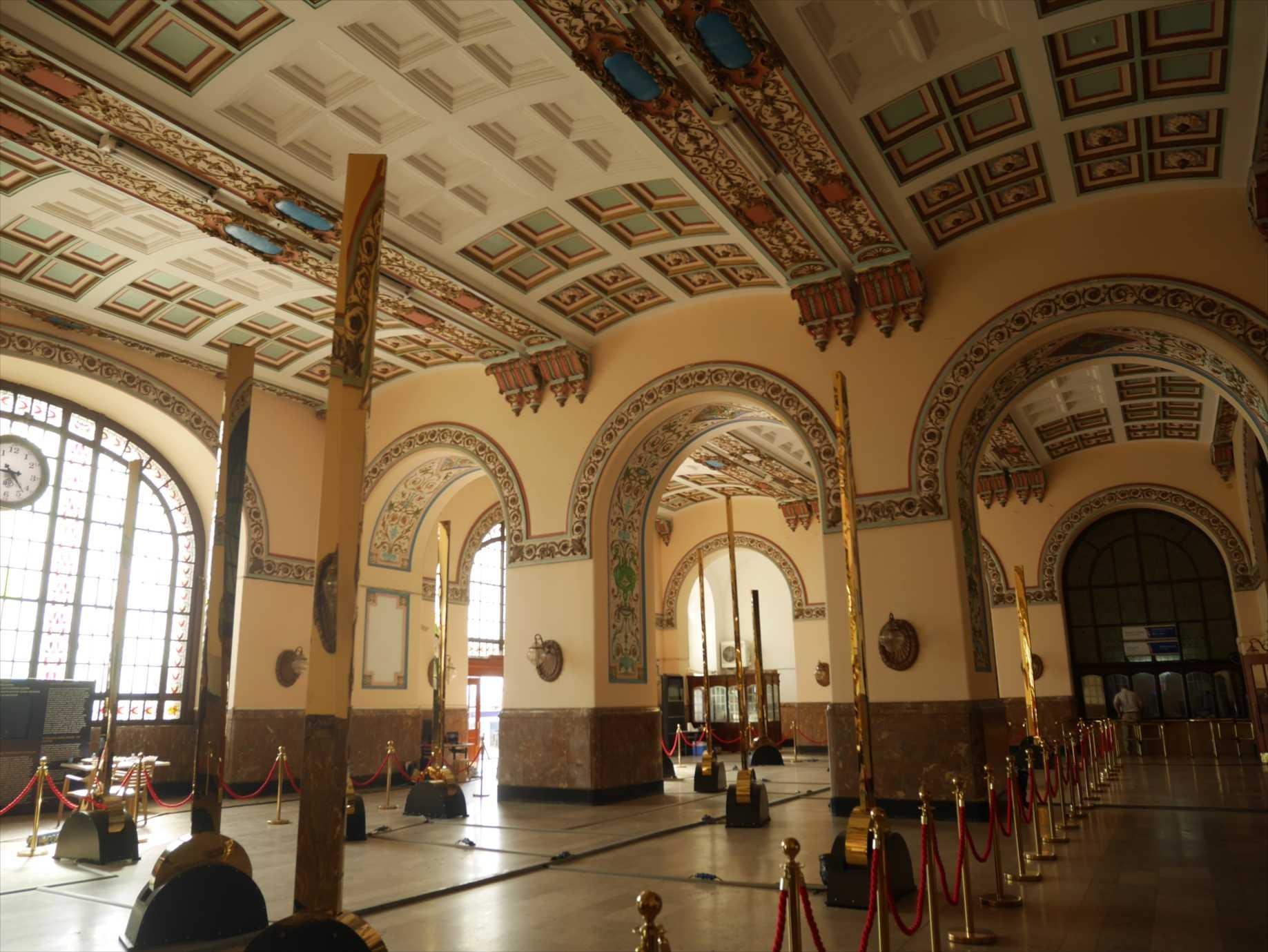 ハイダルパシャ旧駅には観光客がいない