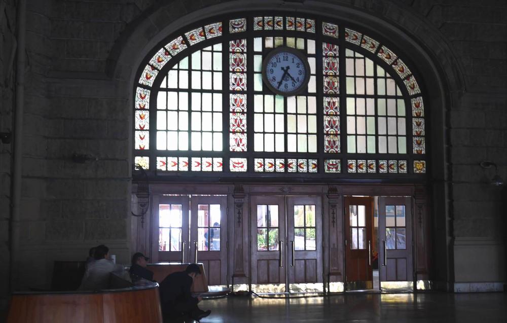 ハイダルパシャ旧駅舎の内部
