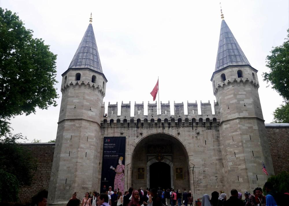 トプカプ宮殿、皇帝の門