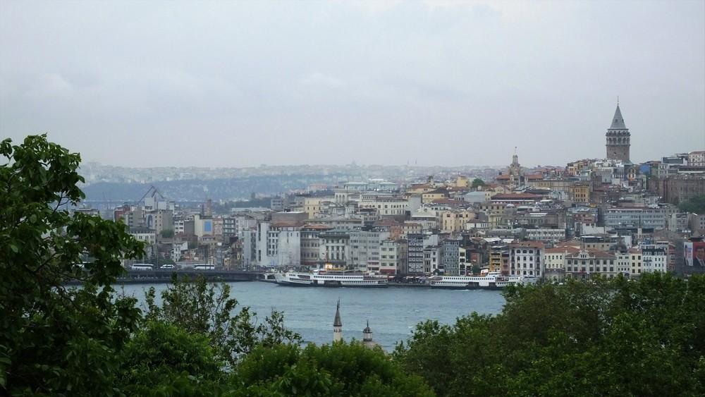 トプカプ宮殿から見た新市街方面