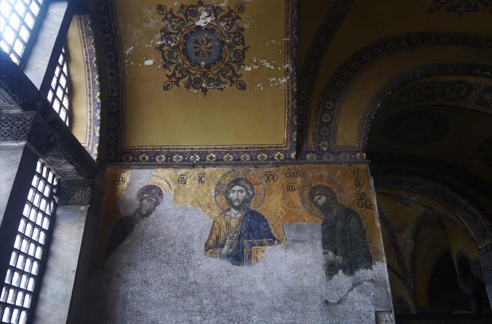 アヤソフィアのキリスト壁画