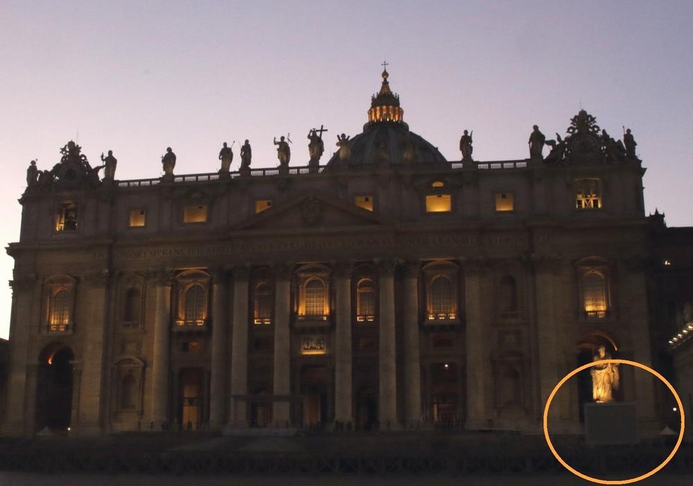 サンピエトロ大聖堂のテレビ