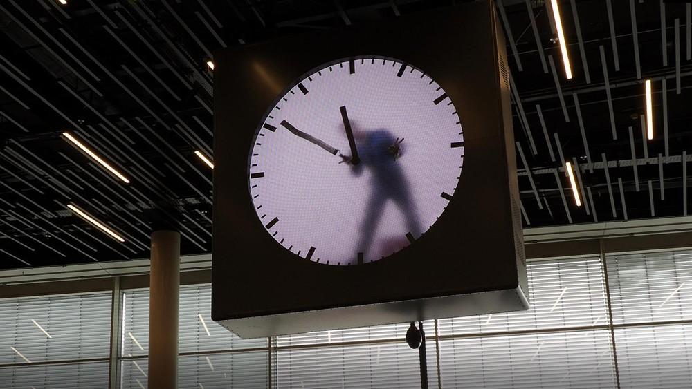 スキポール空港の時計4