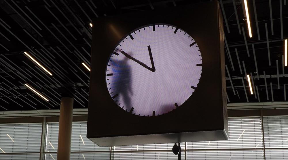 スキポール空港の時計5
